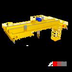 Двухбалочный мостовой кран электрический