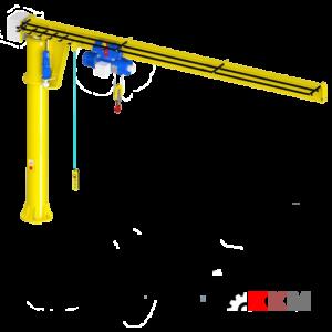 Консольный кран электрический