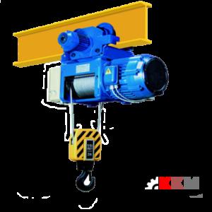 Канатный электрический тельфер тонна