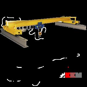 Монтаж тельфера на балку